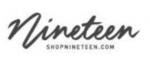 Nineteen discount codes 2019